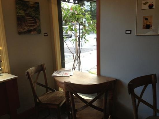 Carmel Valley Coffee Roasting:                   Our cozy little table
