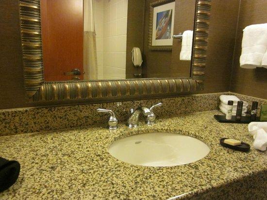 Embassy Suites by Hilton Austin Arboretum : Bathroom