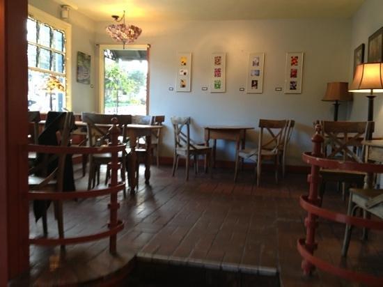 Carmel Valley Coffee Roasting:                   Seating area