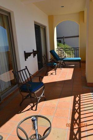 Pueblo Bonito Sunset Beach Golf & Spa Resort: Patio (of one bedroom suite)