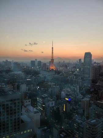 Park Hotel Tokyo:                   the fantastice view from our room!
