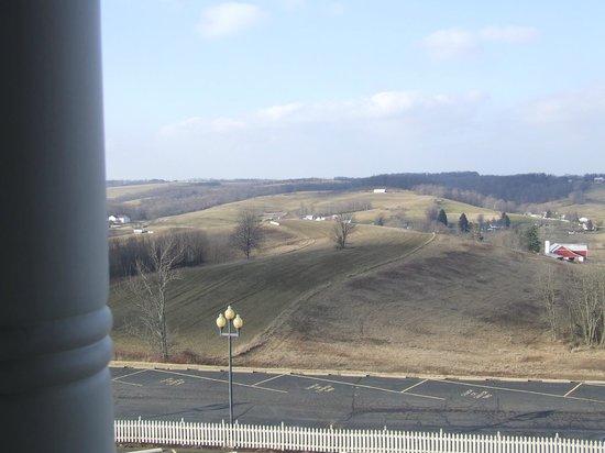 Carlisle Inn:                   valley view                 