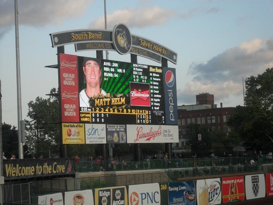 South Bend, Indiana: Score Board
