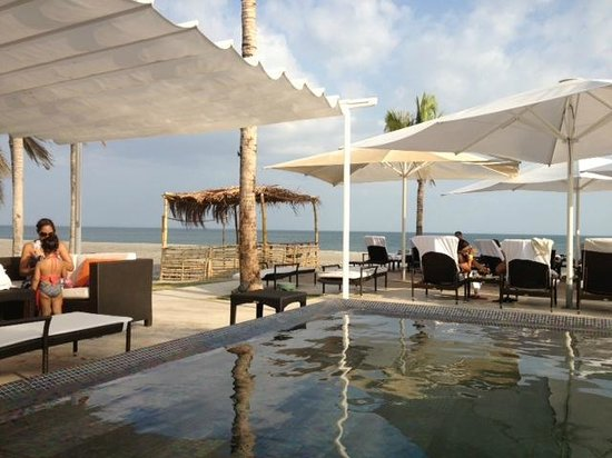JW Marriott Panama Golf & Beach Resort:                   View from sun lounger