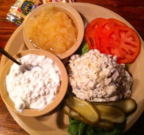 Lambert's II:                   the chicken salad plate is great!