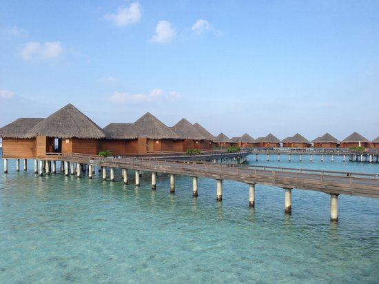 Baros Maldives:                   バロスのウォーターヴィラ