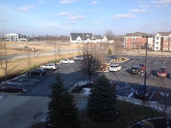 Hilton Garden Inn Indianapolis/Carmel: View from Hilton Garden Inn Room - Carmel Indianapolis