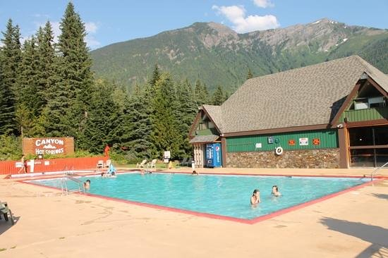 Canyon Hot Springs:                   Hard to beat on a nice summer day.