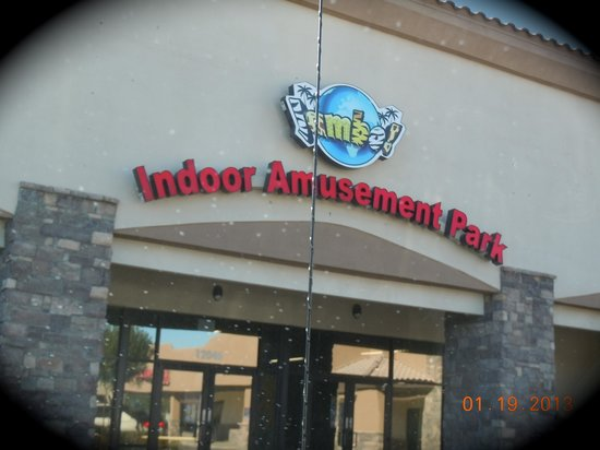 Jambo Indoor Amusement Park:                   Entrance