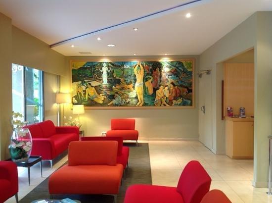 Le Lagon Hotel:                   Le Lobby