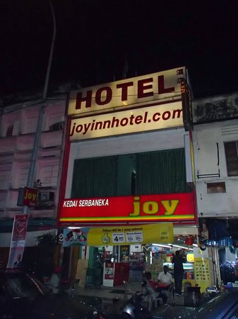 Joy Inn Hotel : What the outside looks like