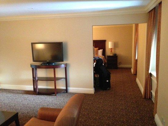 Omni William Penn Hotel:                   Huge suite
