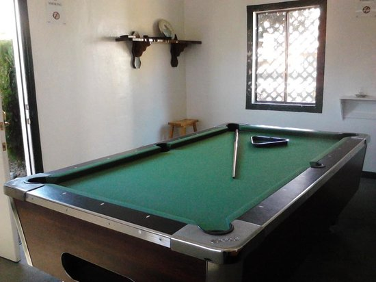 The Kern Lodge:                   Game Room Pool and Darts
