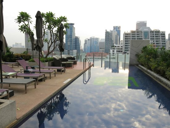 Aloft Bangkok - Sukhumvit 11:                   pool is not huge, but enough. Gym is also good and high-tech
