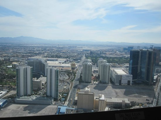Stratosphere Hotel, Casino and Tower: View of part of the strip