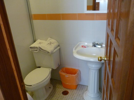 Hostal del Zocalo :                   Baño