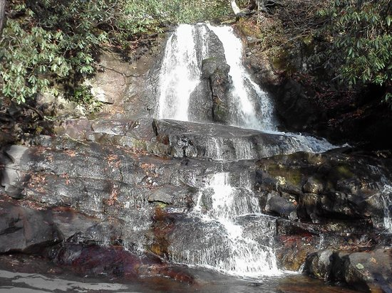 Westgate Smoky Mountain Resort & Spa:                                                       hiking in the mountains to the waterfall.