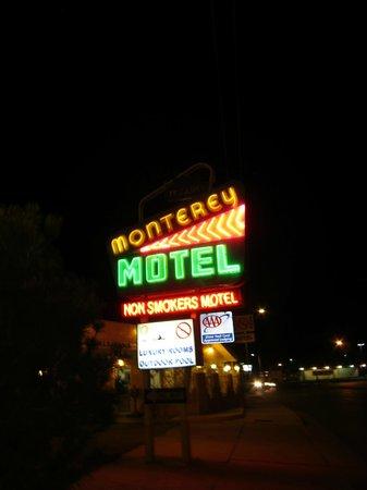Monterey Motel: Neon!