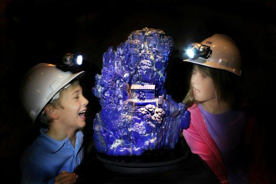 The Crystal Caves: The Ancient Lapis Lazuli Sculpture