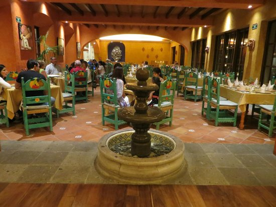 Hacienda Tres Rios: By far the prettiest dining area: the Mexican Restaurant