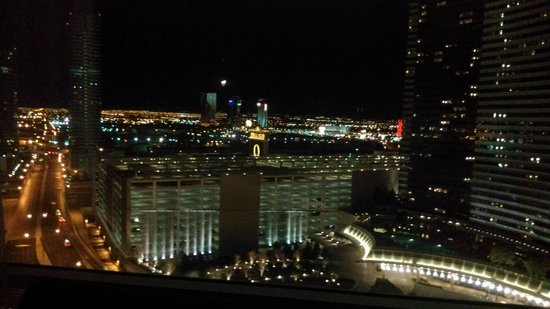 ARIA Resort & Casino: Night view from room