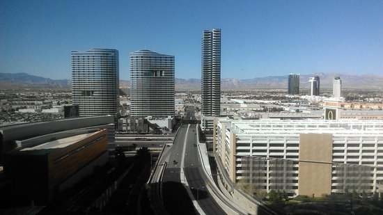 ARIA Resort & Casino: Day view from room