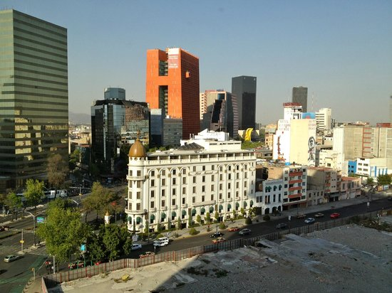 Fiesta Americana Reforma: View from our room