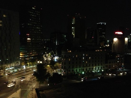 Fiesta Americana Reforma: View from our room at night