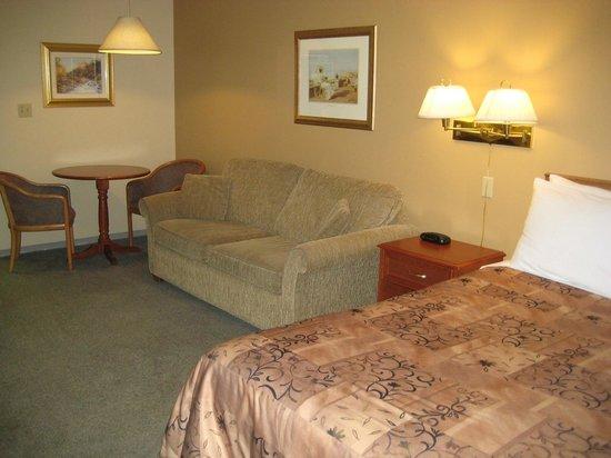Thunderbird Motor Inn : 2nd Floor 1 Queen Bed