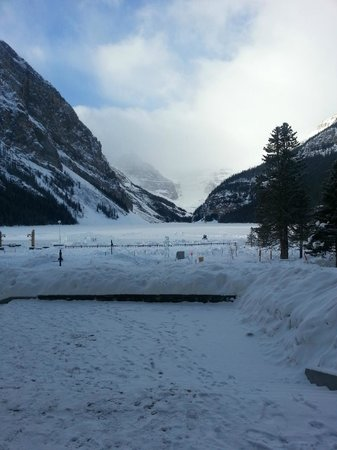 Fairmont Chateau Lake Louise:                   Lake Louise