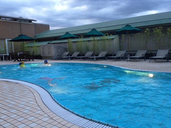 The Westin Miyako Kyoto: Outdoor pool