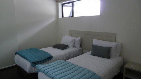 Aoraki Court Aoraki/Mt Cook Village:                   Chambre 2 lits jumeaux