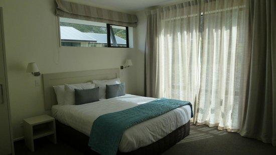 Aoraki Court Aoraki/Mt Cook Village:                   Chambre lit King size