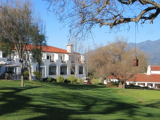 Ojai Valley Inn:                   hotel grounds