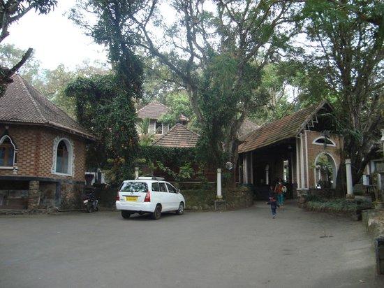Hotel Ambadi:                   Hotel View