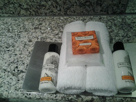 Knightsbridge Hotel:                   Lovely bath amenities