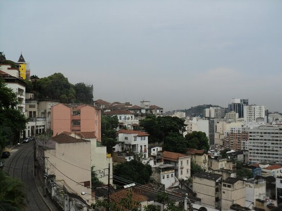 Rio Hostel & Suites Santa Teresa:                   vista