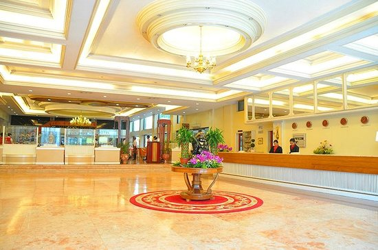 Grand Menseng Hotel: Welcome to our Hotel Lobby
