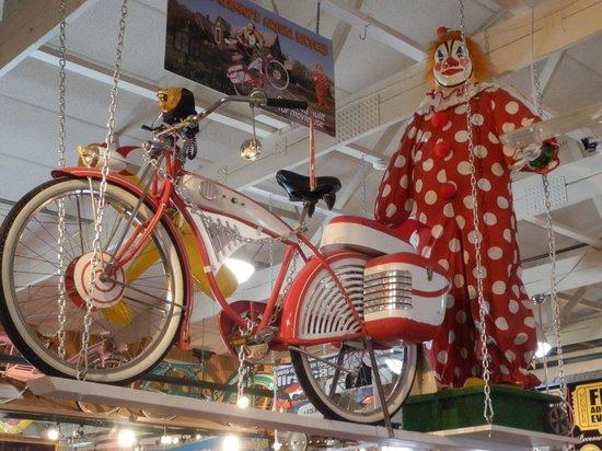 Volo Auto Museum:                   Pee Wee's bike