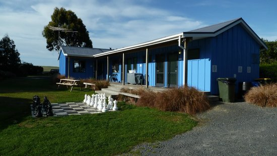Catlins Newhaven Holiday Park:                                     Locaux communs (cuisin, buanderie)