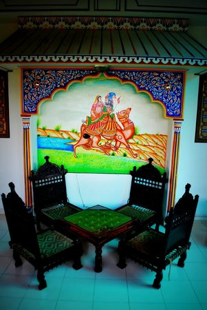 Sunder Palace Guest House: lounge