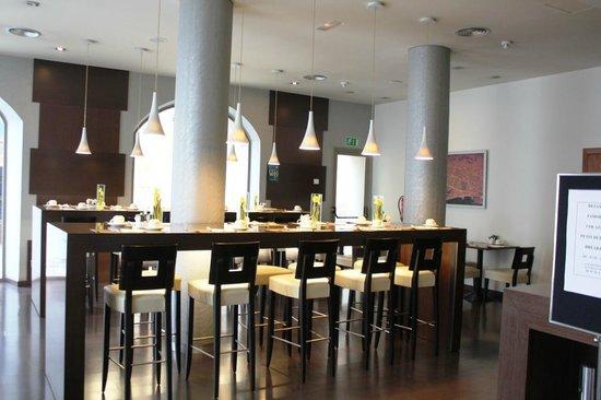 Abba Rambla Hotel: Mini restaurant