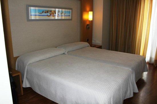 Abba Rambla Hotel: Twin beds