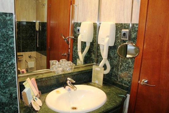 Abba Rambla Hotel: Bathroom
