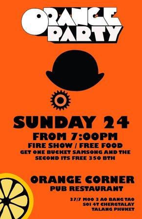 Orange Corner: Party