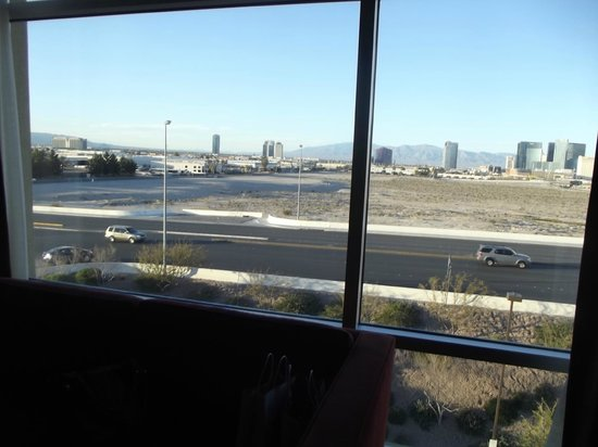 Staybridge Suites Las Vegas:                   view from living room