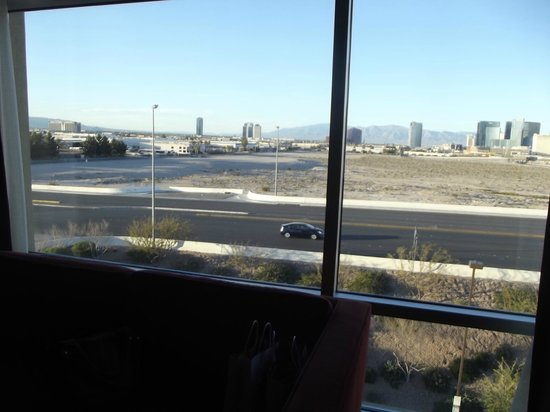 Staybridge Suites Las Vegas :                   view from living room 2nd picture