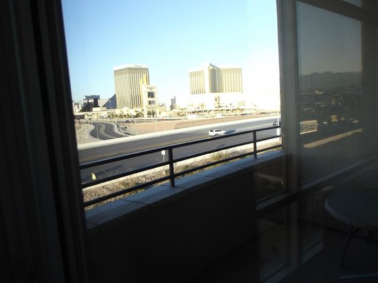 Staybridge Suites Las Vegas:                   view from balcony - strip view