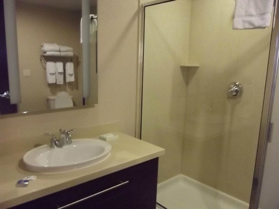 Staybridge Suites Las Vegas:                   bathroom with shower and sink