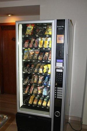 Abba Rambla Hotel: Vending machine at Floor 0